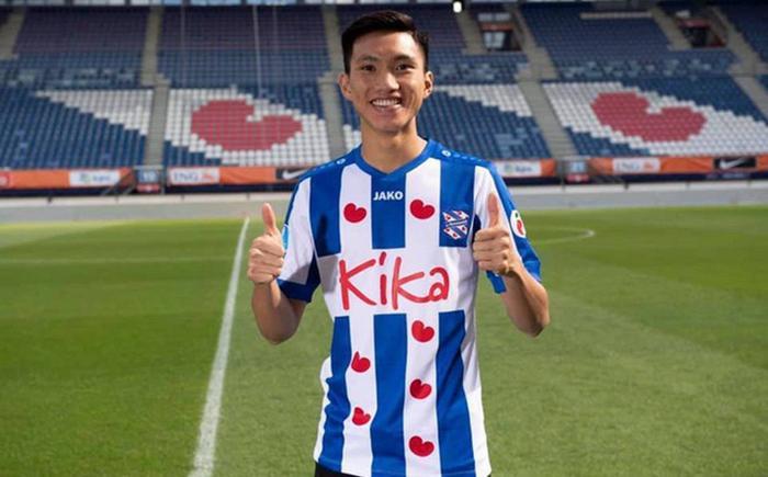 Đoàn Văn Hậu nhận lương cao thứ 4 tại CLB Heerenveen.