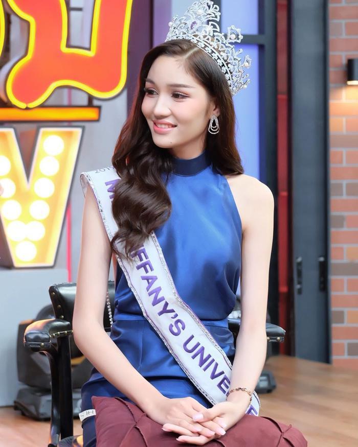 Lộ diện 2 đối thủ đáng gờm của Hoài Sa tại MQI 2020: Hoa hậu Nhật già dặn, đại diện Thái Lan quá xinh đẹp ảnh 1