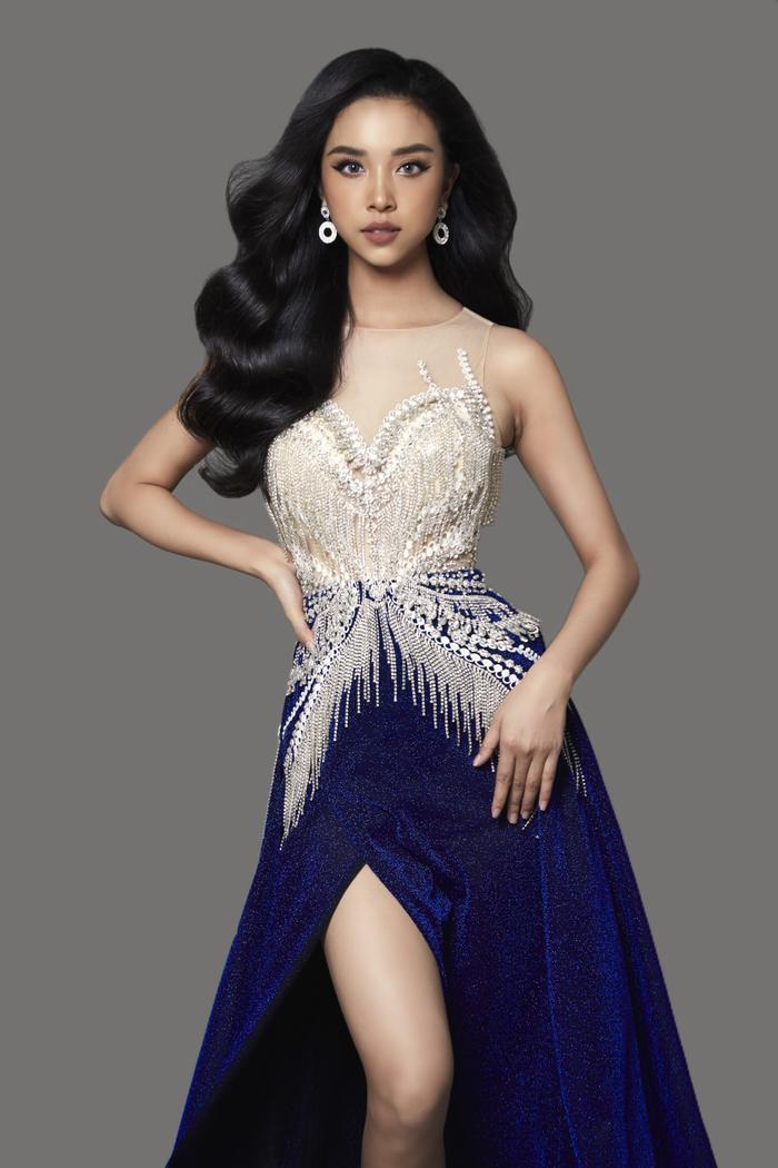 Thúy An đẹp mê mẩn trong 2 thiết kế dạ hội cầu kỳ cho đêm Chung kết Miss Intercontinental 2019 ảnh 6
