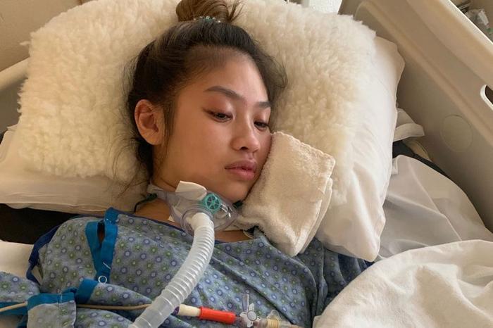 Thiếu nữ bị tổn thương não sau khi gây mê trước ca phẫu thuật ngực.