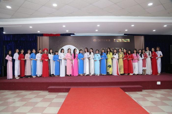 """""""Hoa khôi sinh viên NHG 2020"""" là sân chơi dành riêng cho nữ sinh của 4 trường đại học nằm trong hệ thống giáo dục Nguyễn Hoàng (NHG)."""