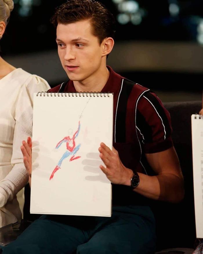 Cuộc thi khéo tay hay làm của dàn diễn viên Marvel ảnh 1