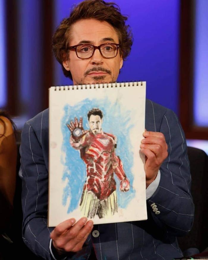Robert Downey Jr rõ ràng là người chiến thắng rồi!