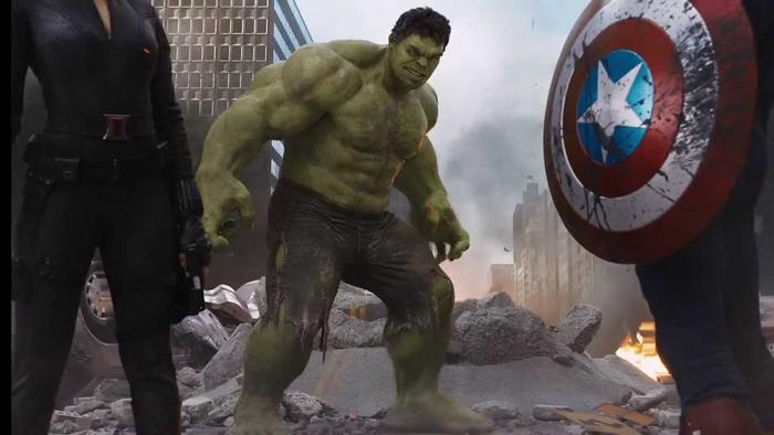 Hulk trong bộ phim The Avenger