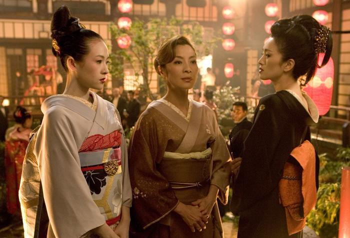 Hình ảnh trong phim Hồi ức của một Geisha…