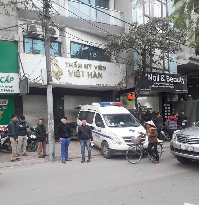 Nóng: Người đàn ông 43 tuổi tử vong khi hút mỡ bụng tại thẩm mỹ viện ở Hà Nội