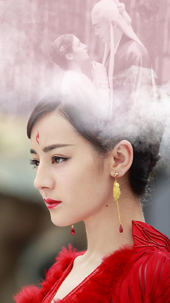 Mỹ nhân Hoa ngữ và màu đỏ vương quyền trong các bộ phim truyền hình ảnh 12