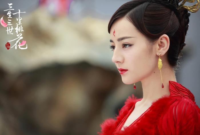 Mỹ nhân Hoa ngữ và màu đỏ vương quyền trong các bộ phim truyền hình ảnh 15