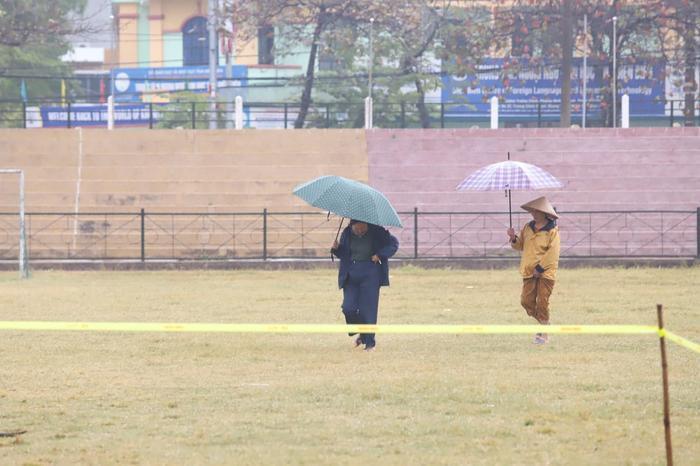 Thời tiết sáng nay tại Điện Biên mưa rét.
