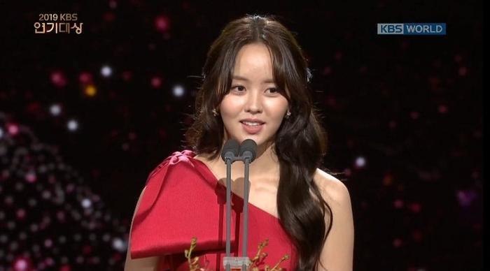 Kết quả KBS Drama Awards 2019: Gong Hyo Jin giành giải Deasang Kim So Hyun và Jang Dong Joon là cặp đôi được yêu thích nhất ảnh 9
