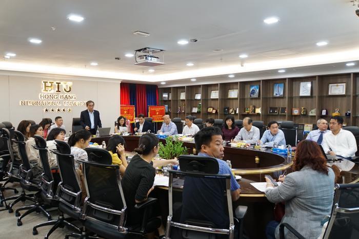 Buổi công bố phương thức tuyển sinh của trường ĐH Quốc tế Hồng Bàng