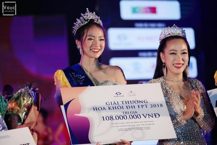 Cuối năm 2018, Nguyễn Bảo Ngọc tham gia cuộc thi Hoa khôi ĐH FPT Hà Nội và được xướng tên ở ngôi vị cao nhất. Bên cạnh đó, cô cũng giành 2 giải phụ là Hoa khôi ảnh và Hoa khôi tài năng với phần trình diễn đầy cảm xúc.