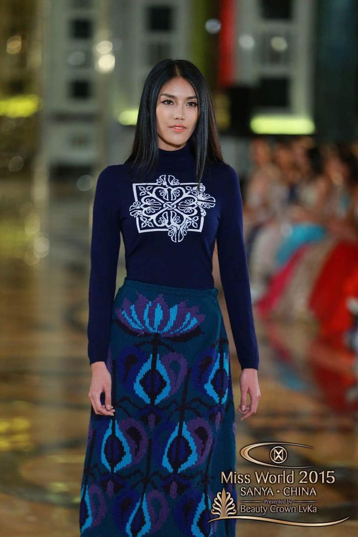 Với phong độ ổn định Lan Khuê về đích ở vị trí Top 11 cùng thành tích người đẹp được bình chọn nhiều nhất, World Fashion Designer Award và Top 30 Top Model. Thành tích Top 11 Miss World của cô nàng hiện tại vẫn đang giữ kỷ lục.