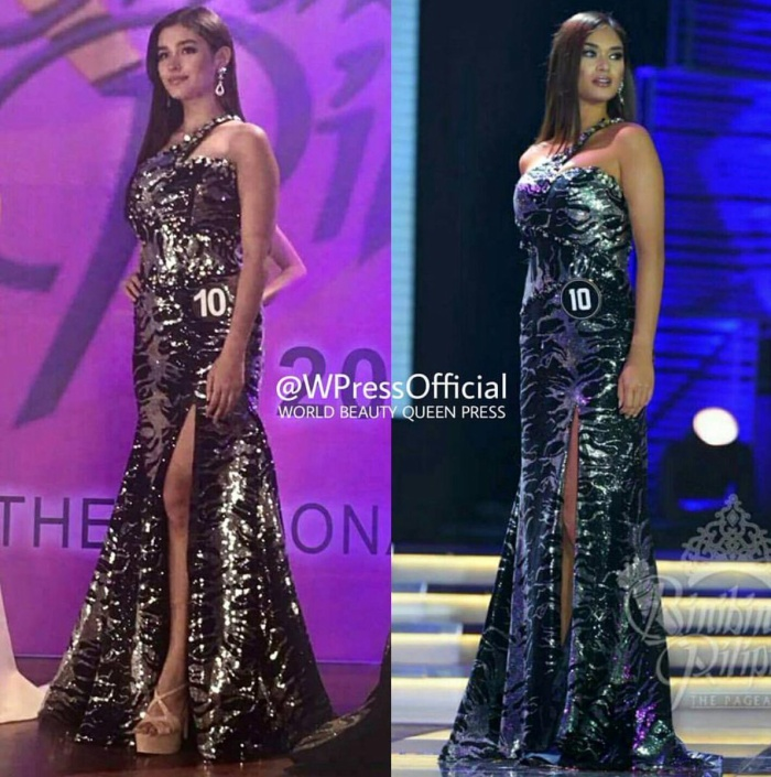 Liza Soberano tạo hình Hoa hậu Hoàn vũ Pia Wurtzbach trong phim.