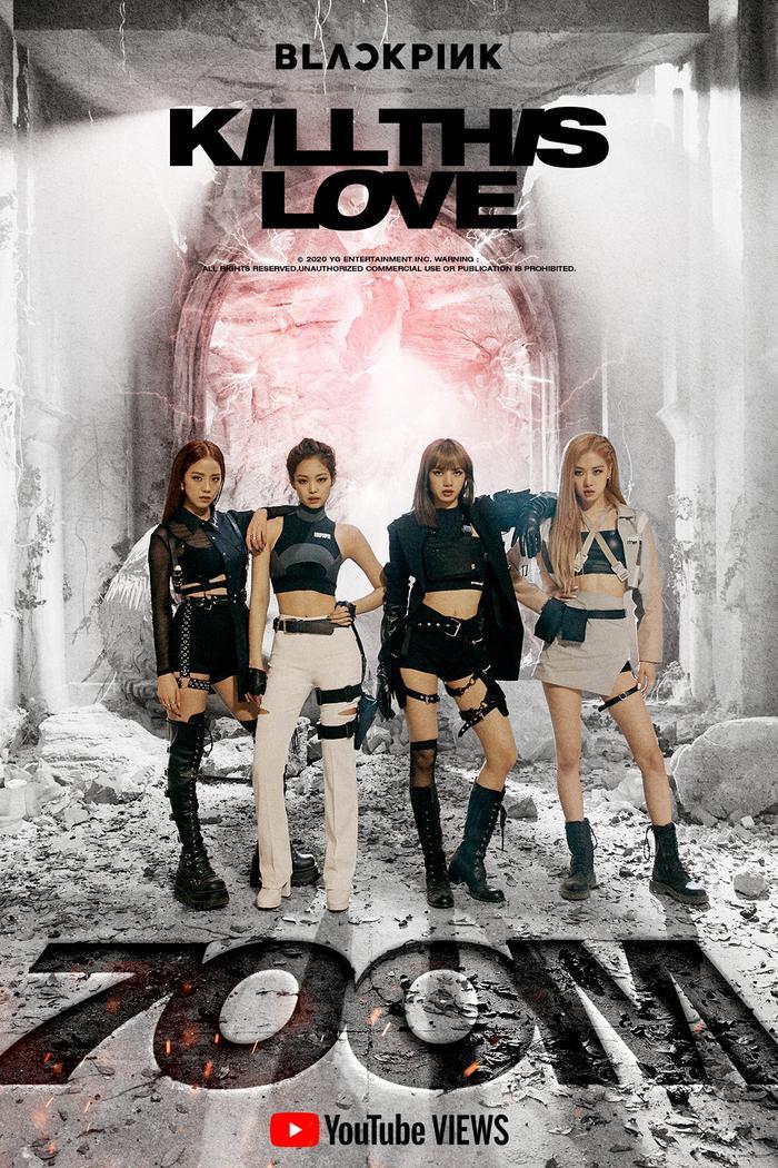 Kill This Love đạt 700 triệu view, BlackPink trở thành nghệ sĩ Kpop đầu tiên và duy nhất ở thì hiện tại làm được điều này