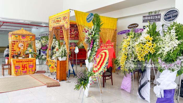 Tang lễ của NSƯT Nguyễn Chánh Tín diễn ra từ chiều ngày 4-7/1, sau đó linh cữu ông sẽ được hỏa táng vào sáng 8/1 tại nghĩa trang Đa Phước.