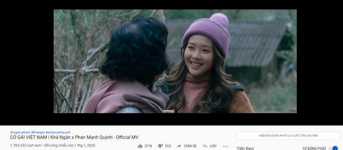 MV đạt gần 2 triệu lượt xem chỉ trong 5 ngày ra mắt