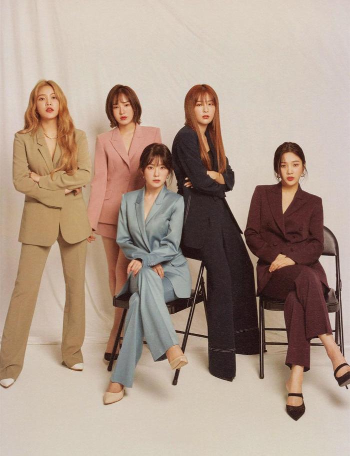 Red Velvet đã hoạt động vô cùng chăm chỉ trong năm qua