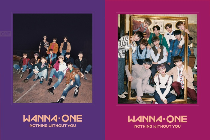 Album Nothing Without You của Wanna One.