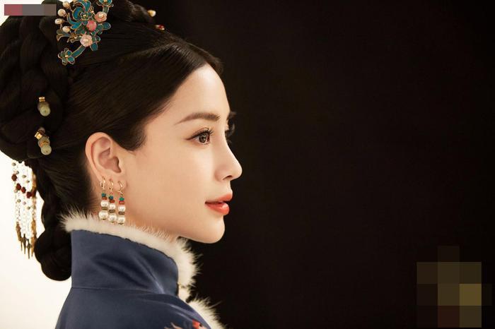 Angelababy thử thách với tạo hình Thanh cung, hình ảnh xinh đẹp khiến người xem chết mê ảnh 6