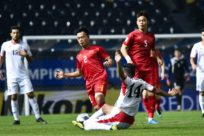 U23 Việt Nam đã có trận đấu khó khăn trước Jordan.
