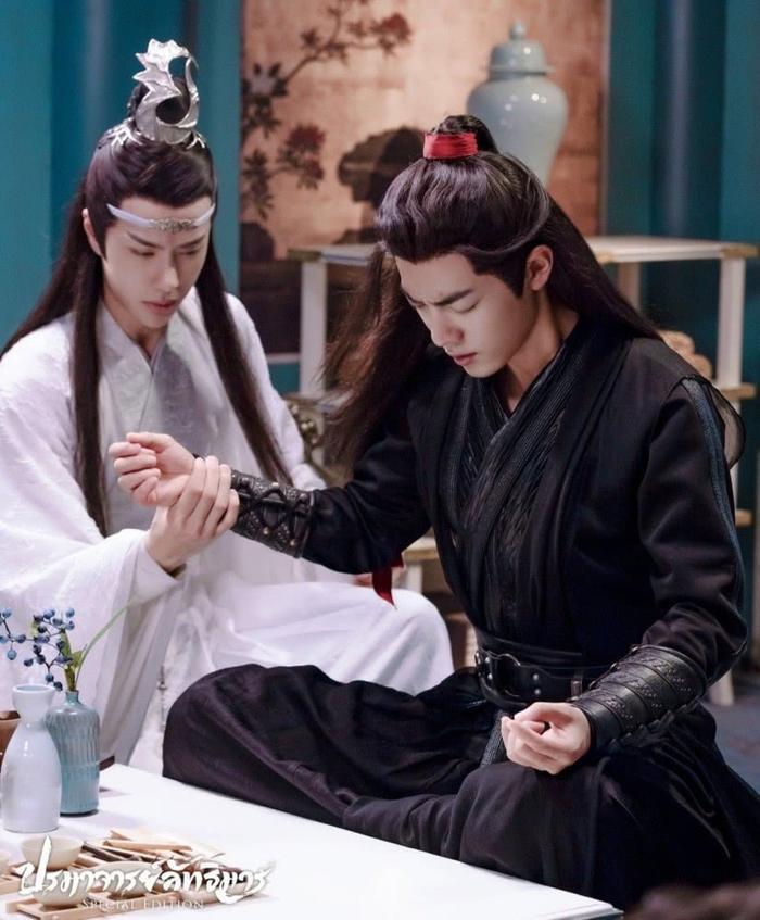 Sao chép biểu cảm của Tiêu Chiến, Dương Tử bị fans của nam chính Trần Tình Lệnh và Vương Nhất Bác trách mắng ảnh 6