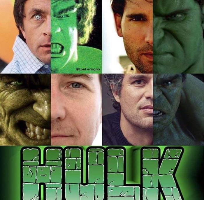 Có rất nhiều phiên bản Hulk khác nhau trong quá khứ.