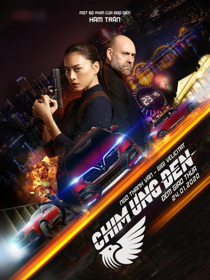 Ngô Thanh Vân bất ngờ góp mặt trong đường đua phim Tết với 'Chim ưng đen'.