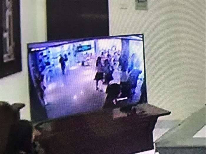 Khu vực tầng 2 nơi bị cáo Quy dẫn các học sinh lên.