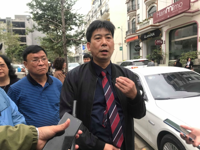 Luật sư Lê Thanh Sơn – người bào chữa cho bà Quy