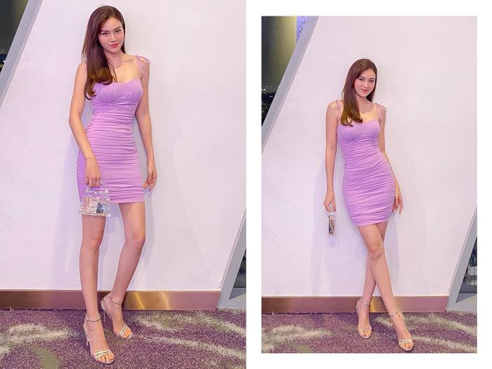 Đây là chiếc váy dây cực hot của NTK Lưu Ngọc Kim Khanh