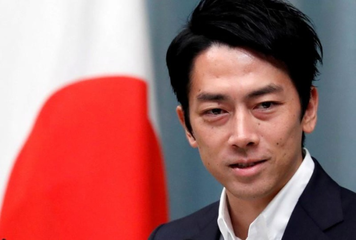 Bộ trưởng Môi trường Shinjiro Koizumi.