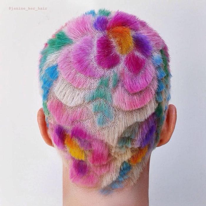 Khi bạn muốn nhuộm tóc màu mình thích nhưng lại không biết chọn màu nào thì đừng ngại gì mà không thử kiểu như này