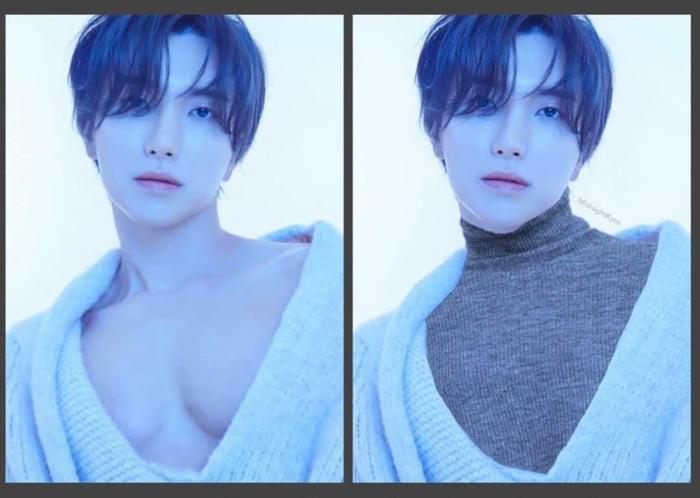 Mùa Đông không còn lạnh khi có photoshop.