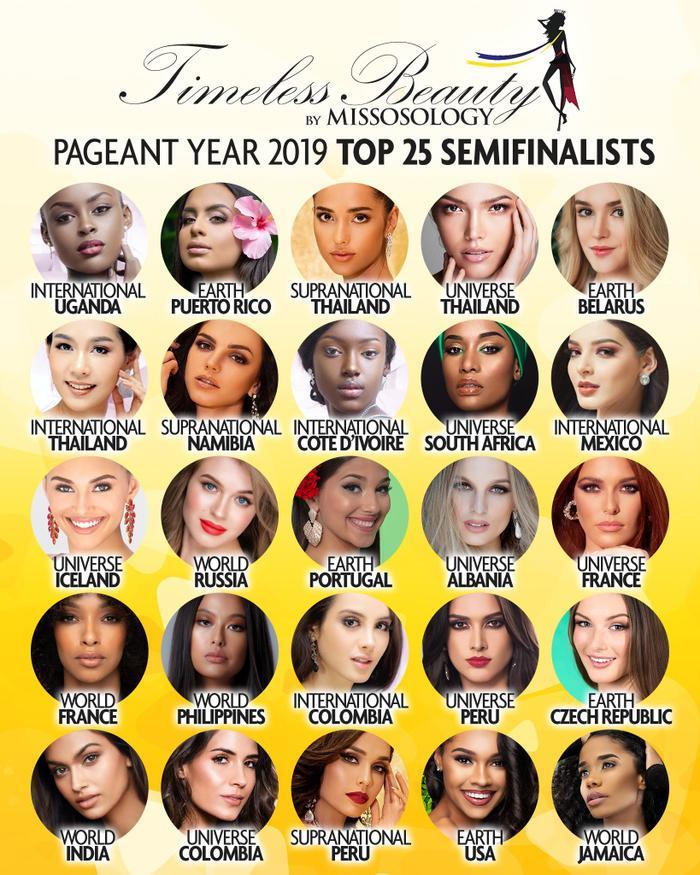 Top 25 tiếp tục tranh tài giải bình chọn Timeless Beauty – Vẻ đẹp vượt thời gian năm 2019.