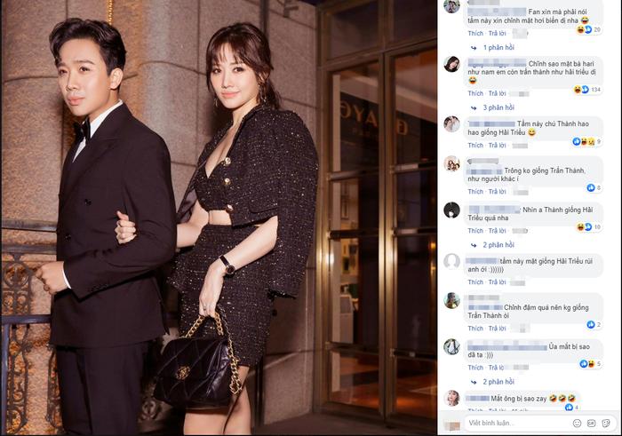 Đăng ảnh cực sang nhưng vợ chồng Trấn Thành Hari Won lại bị soi photoshop quá liều ảnh 4
