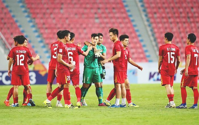 Để thua trước U23 Triều Tiên với tỷ số 1-2, U23 Việt Nam chấp nhận chia tay sân chơi châu lục ngay từ vòng đấu bảng. (Ảnh: S.N)