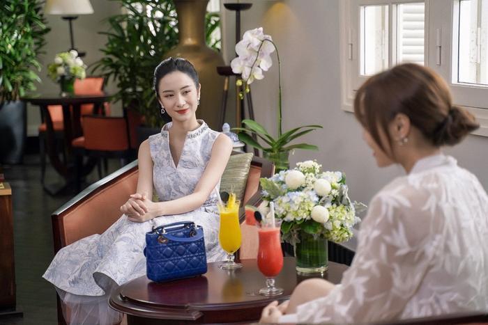 Khánh My (Jun Vũ) dựa hơi bà Mai (NSND Lê Khanh) để lên mặt với Ms.Q (Ninh Dương Lan Ngọc)