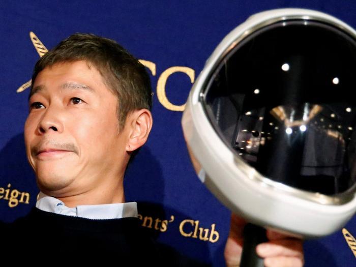 Tỉ phú người Nhật Bản Yusaku Maezawa. (Ảnh: Reuters)