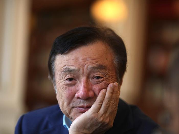 Ông Nhậm Chính Phi, CEO Huawei. (Ảnh: AP)