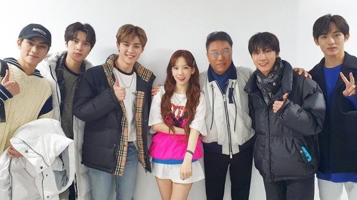 Chủ tịch Lee Soo Man và WayV đến tham dự ngày thứ 2 của The Unseen.