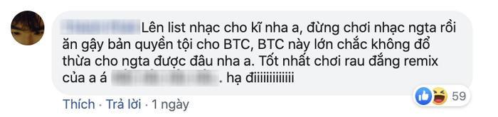 """Một số bình luận """"cà khịa"""" K-ICM trên fanpage BTC lễ hội EDM mở đầu thập kỷ lớn nhất Thái Lan. (Ảnh chụp màn hình)"""