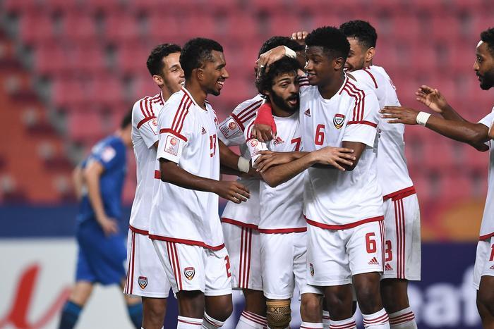 U23 UAE sớm vươn lên dẫn trước nhưng bị gỡ hoà rất nhanh.