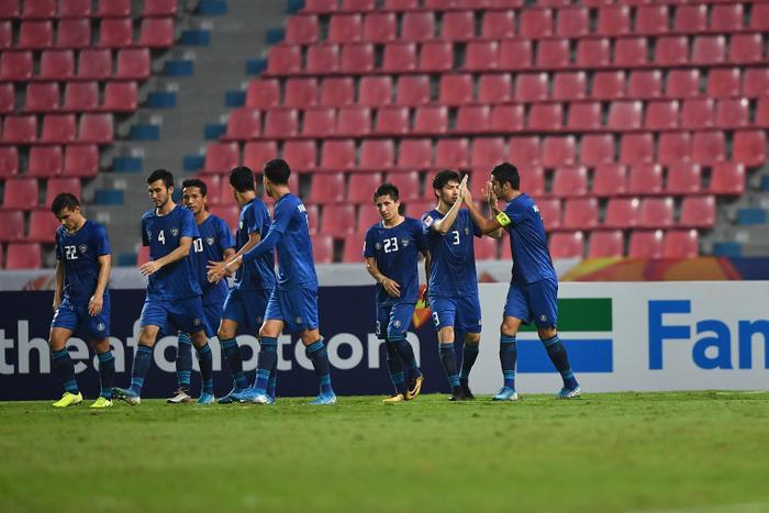 U23 Uzbekistan kiểm soát hoàn toàn thế trận.