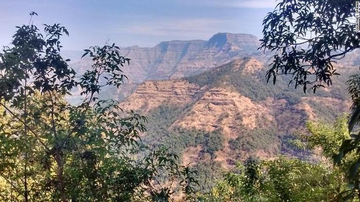 Núi lửa Deccan Traps thuộc Ấn Độ ngày nay.