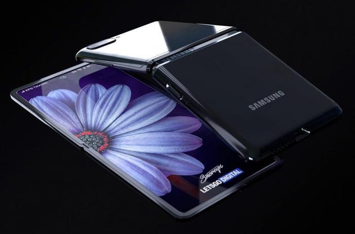 Vào tháng 2 tới, song song với những chiếc smartphone cao cấp mới nhất trong series Galaxy S20, Samsung sẽ trình làng thiết bị smartphone thứ hai có màn hình dẻo, gấp mở được của mình mang tên gọi Samsung Galaxy Flip Z (một số nguồn tin nói nó có thể mang tên Galaxy Bloom). Dựa trên những tin đồn liên quan đến sản phẩm này, trang letsgodigital mới đây đã tung ra một concept của chiếc Samsung Galaxy Flip Z thu hút được rất nhiều sự quan tâm của người yêu công nghệ. (Ảnh: letsgodigital)