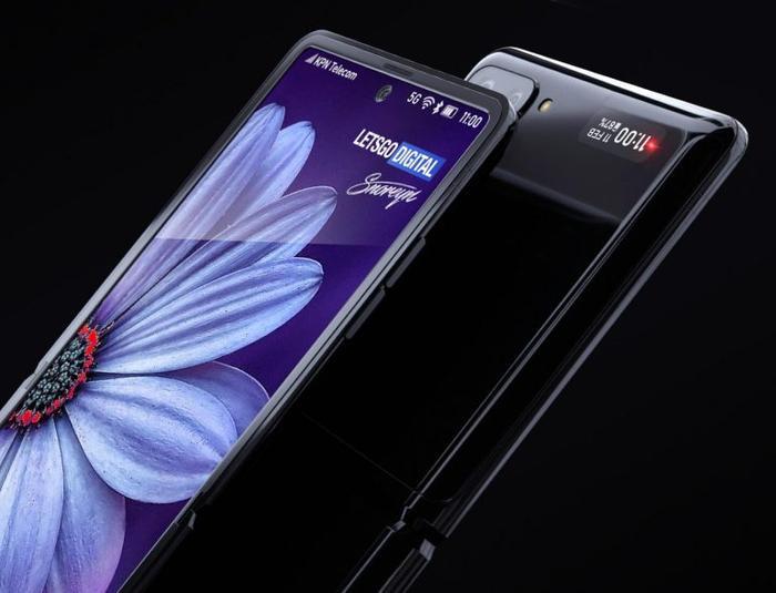 Samsung Galaxy Z Flip được kì vọng sẽ có màn hình kích thước 6,7 inch khi mở ra ở chế độ đầy đủ. Chiếc smartphone này có thể chạy chip Snapdragon 855 đồng thời có camera kép ở mặt lưng và viên pin 3.300 mAh. (Ảnh: letsgodigital)