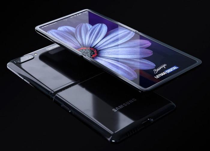 Với lối thiết kế này, Samsung Galaxy Z Flip nhỏ họn hơn so với Fold khá nhiều song diện tích màn hình của nó lại không lớn bằng. Nhiều nhà sản xuất đồng ý rằng smartphone màn hình dẻo sẽ là tương lai của ngành di động và đang chạy đua hiện thực hoá các ý tưởng của mình. (Ảnh: letsgodigital)