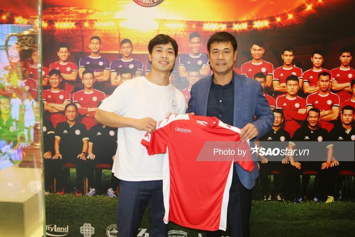 Công Phượng là bản hợp đồng đình đám nhất của CLB TPHCM ở mùa bóng 2020.