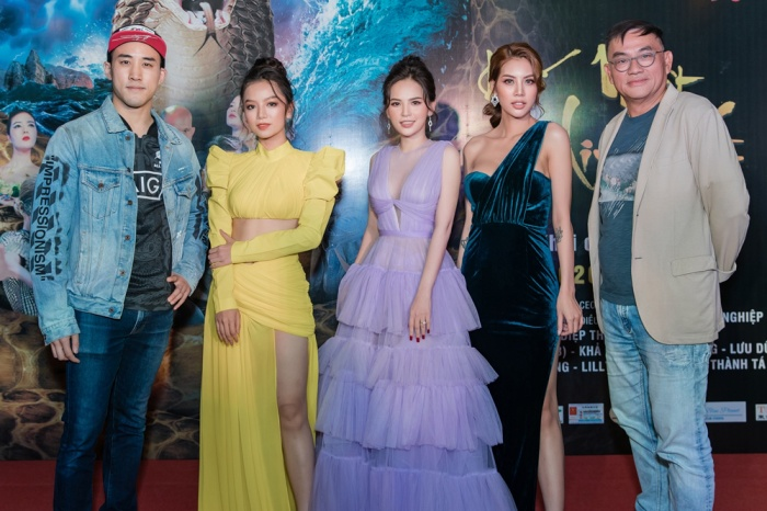 Bí mật đảo Linh Xà: Dàn diễn viên Việt Nam và quốc tế cùng đọ sắc thêm thảm đỏ ảnh 7